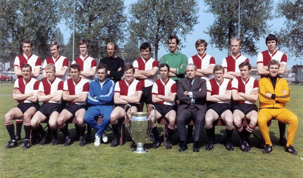 1969 - 1970 Feyenoord Elftalfoto