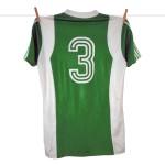 1977 - 1978 Adidas Erima Feyenoord uitshirt, Groen, Nr. 3 (2)