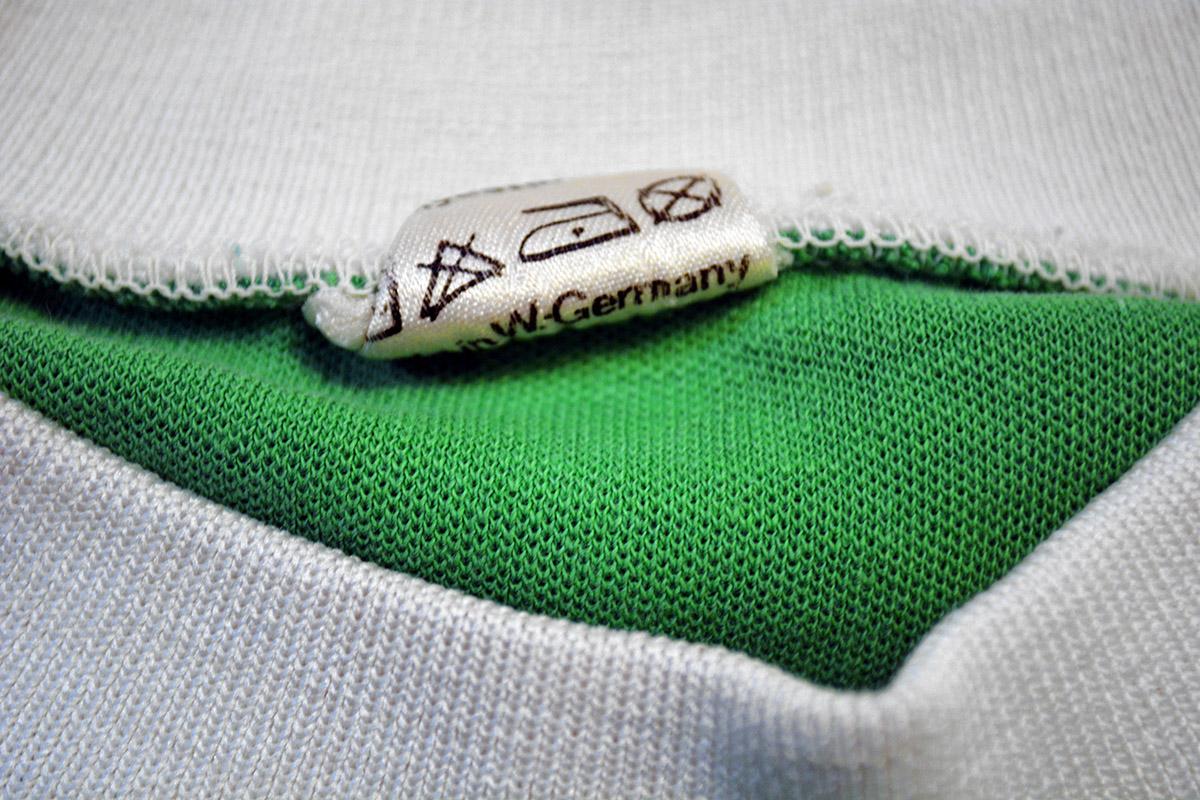1977 - 1978 Adidas Erima Feyenoord uitshirt, Groen, Nr. 3 (4)