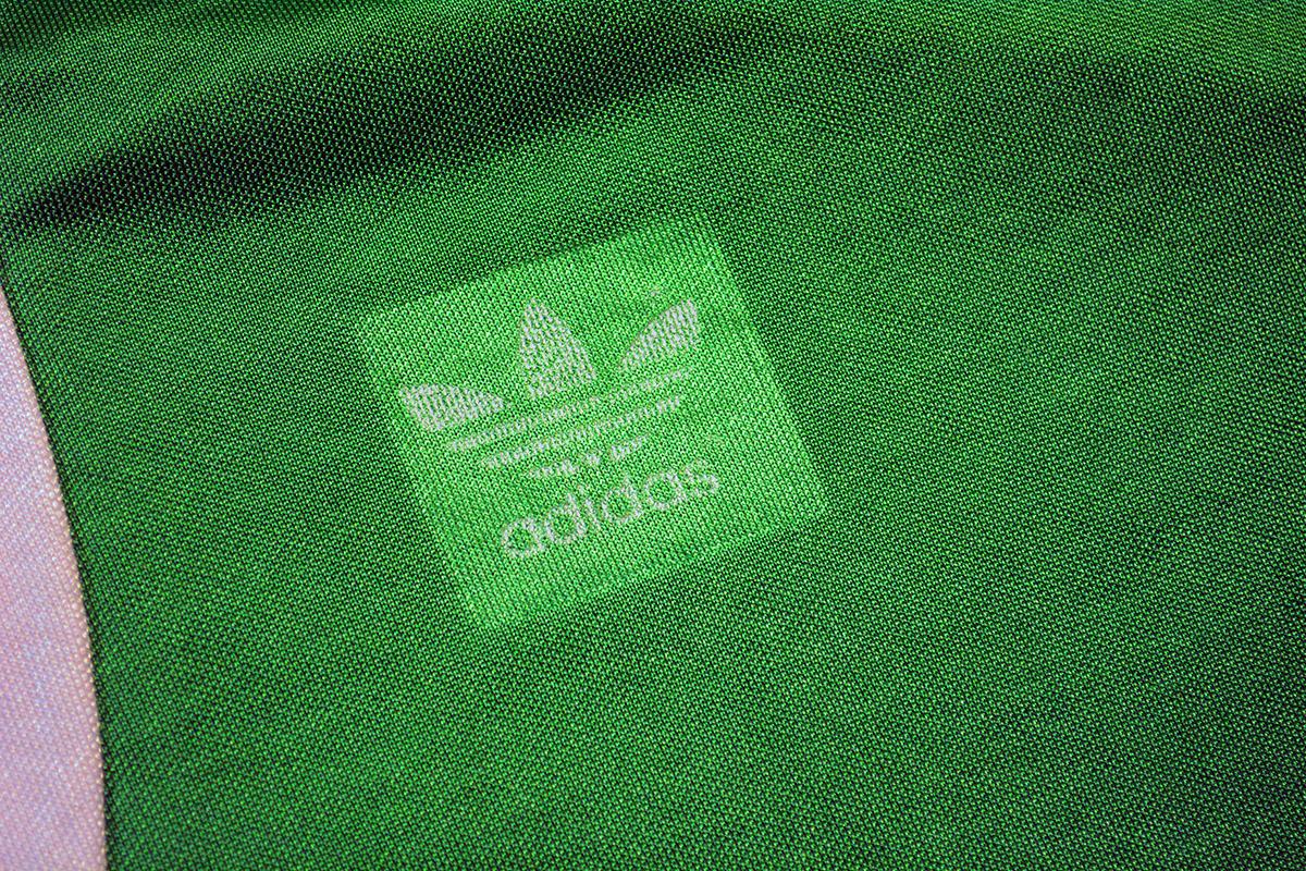 1977 - 1978 Adidas Erima Feyenoord uitshirt, Groen, Nr. 3 (5)