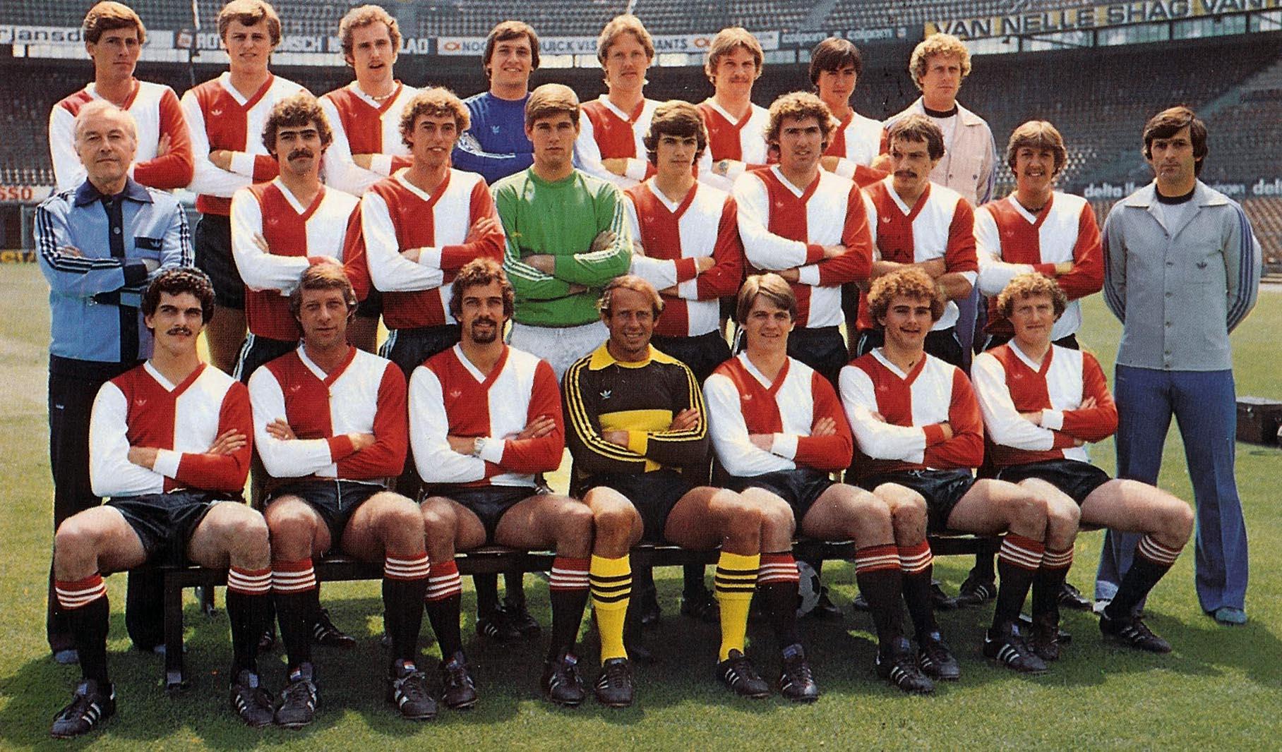 Feyenoord selectie 1978 - 1980