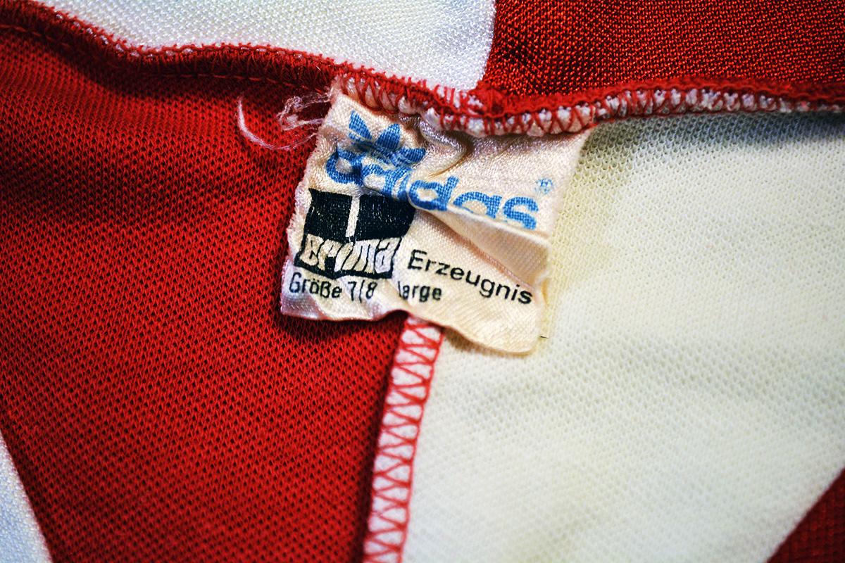 1980 - 1981, Adidas Erima Feyenoord Thuisshirt, Nr. 17 (6)