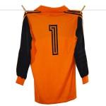 1981 - 1982, Adidas Feyenoord Keepersshirt, Nr. 1 - Joop Hiele (2)