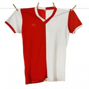 1981 - 1982, Matchworn Feyenoord Thuisshirt, Nr. 4 - Michel van der Korput