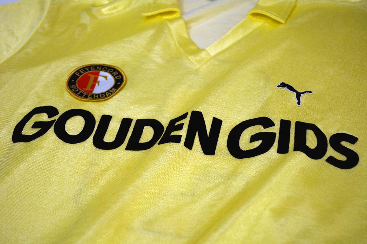 1983 - 1984, Puma Feyenoord Shirt, Uit (2)