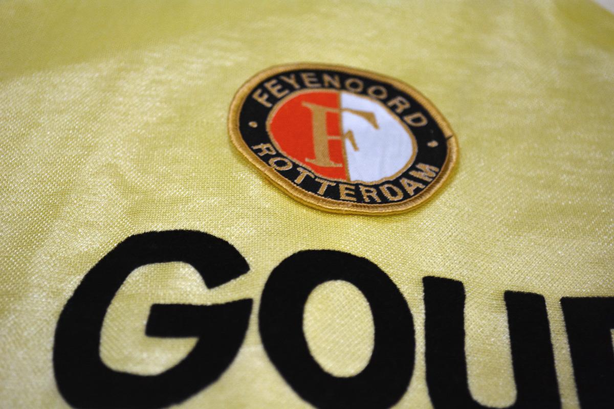1983 - 1984, Puma Feyenoord Shirt, Uit (4)