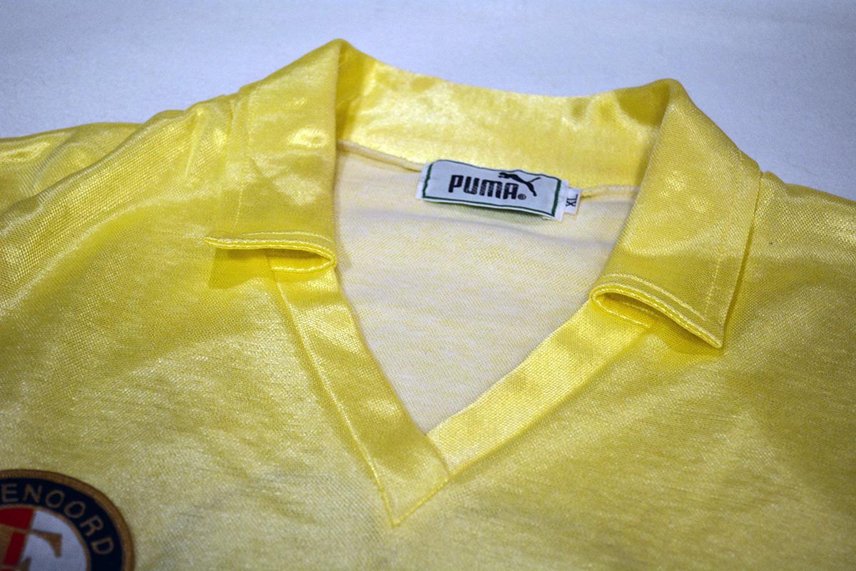 1983 - 1984, Puma Feyenoord Shirt, Uit (5)