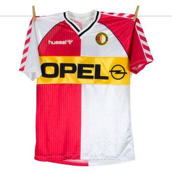 1987 - 1988, Feyenoord Hummel Opel Thuisshirt, Nr 5