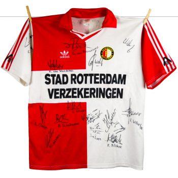 1990 - 1991, thuisshirt, Stad Rotterdam patch