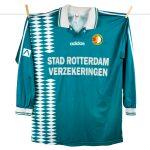 1994 - 1995, groene Feyenoord uitshirt, Obiku 0-1 in Amsterdam