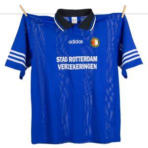 1995 - 1996, Feyenoord derde uitshirt, Europacupshirt met kleine sponsoring