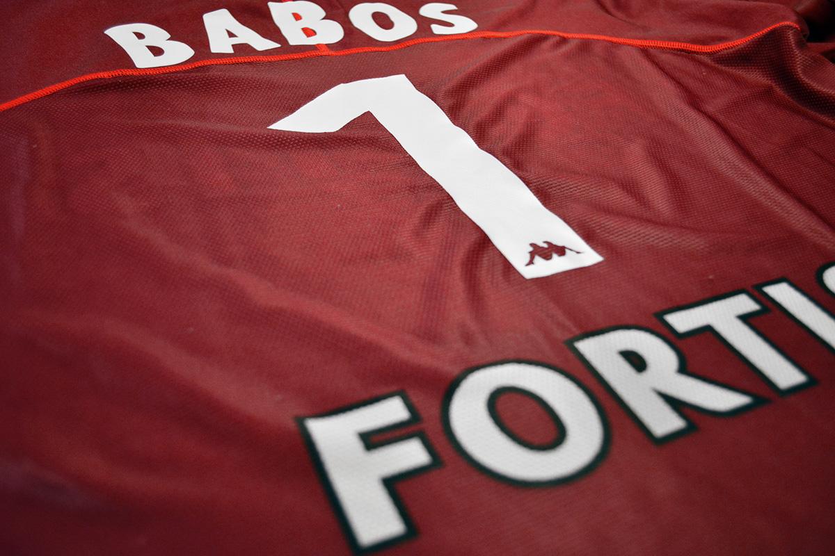 2004 - 2005, Matchworn Feyenoord Keepersshirt, Nr. 1 - Gabor Babos