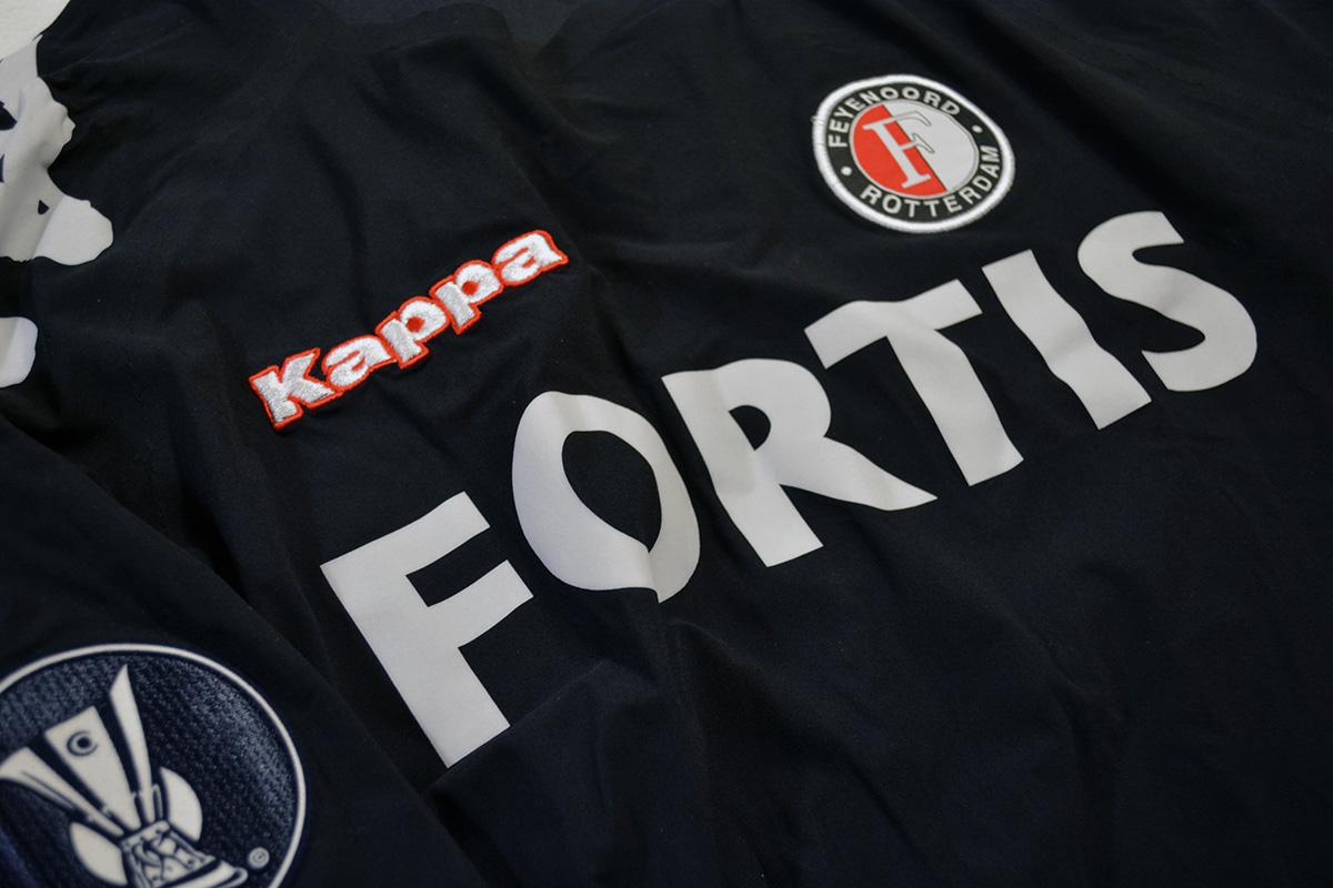2006 - 2007, Feyenoord Europees Keepersshirt - Henk Timmer