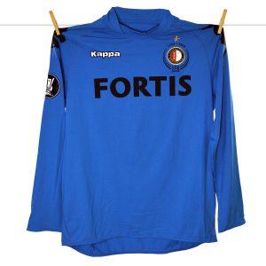2008 - 2009, 100 jaar jubileum, Feyenoord Keepersshirt, Nr 32, Van Dijk