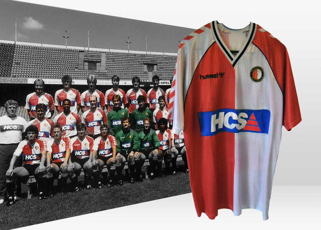 Feyenoord 1989 - 1990 Thuisshirt, HCS Patch