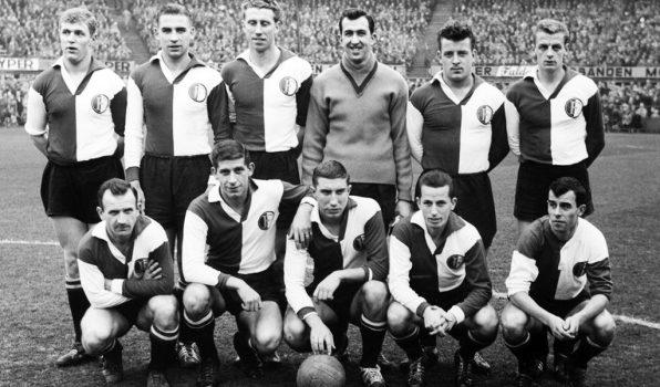 Feyenoord Elftalfoto 1959 - 1960