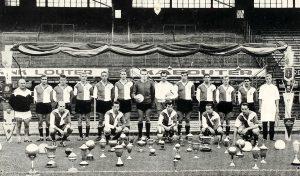 Feyenoord Elftalfoto Seizoen 1960 - 1961