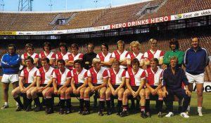 Feyenoord Elftalfoto 1972 - 1973