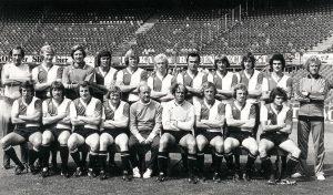 Feyenoord Elftalfoto 1975 - 1976