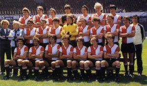 Feyenoord Elftalfoto 1979 - 1980