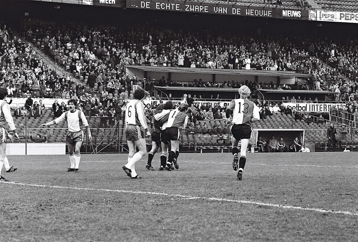 Feyenoord - Go Ahead Eagles, 1982 (2)