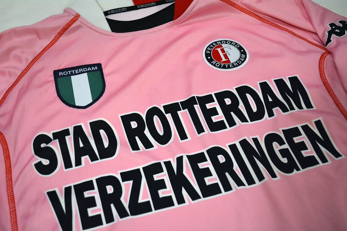Feyenoord Roze Keepersshirt 2002 - 2003 (1)
