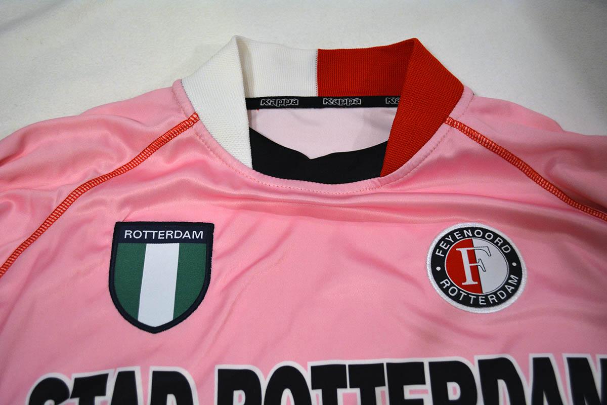 Feyenoord Roze Keepersshirt 2002 - 2003 (2)