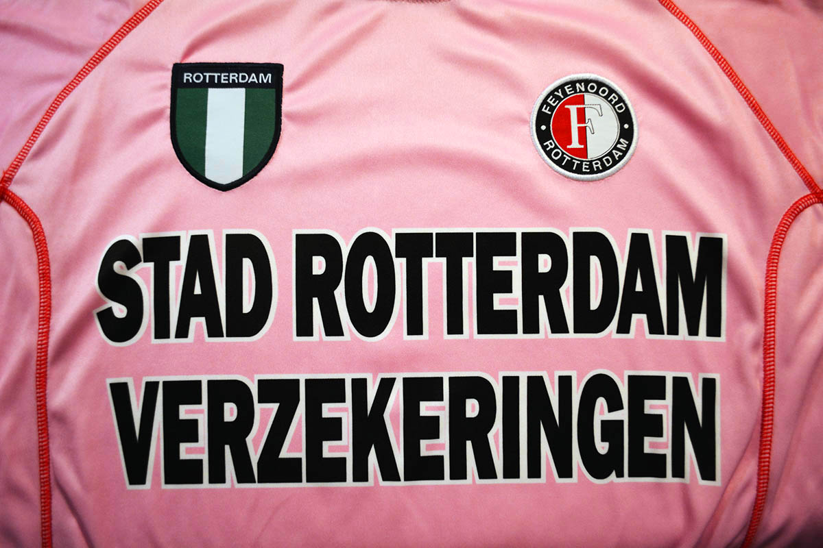 Feyenoord Roze Keepersshirt 2002 - 2003 (8)