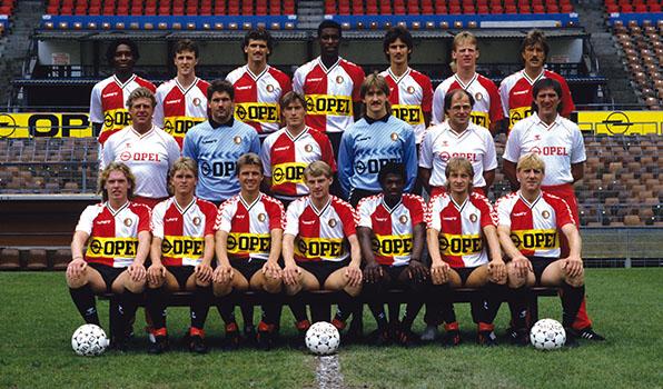 Feyenoord Selectiefoto 1987-1988