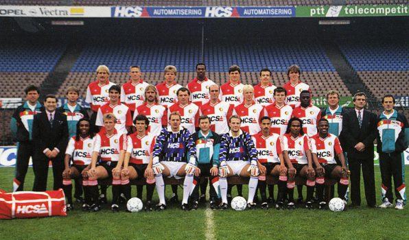 Feyenoord selectie seizoen 1990-1991