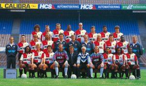 Feyenoord selectie 1991 - 1992