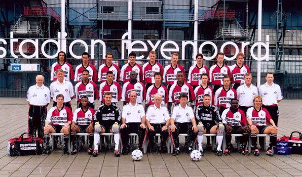 Feyenoord selectiefoto 1998 - 1999