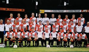 Feyenoord Elftalfoto 2001 - 2002