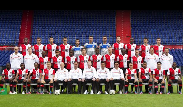 Feyenoord elftal 2012 - 2013