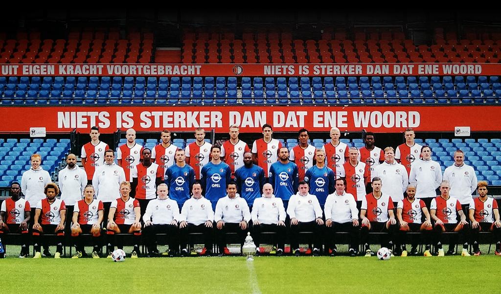 Feyenoord selectiefoto 2016 - 2017