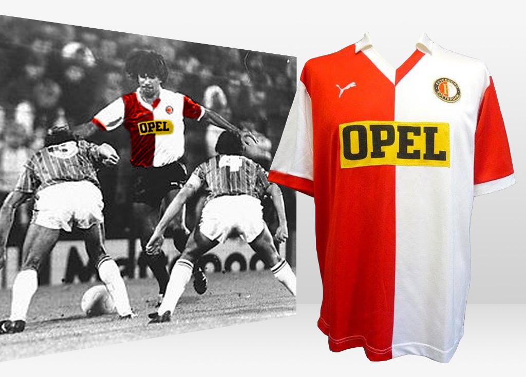 Gezocht 1984 - 1985 - Feyenoord Europacup Thuisshirt