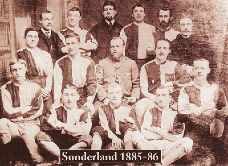 Sunderland teamfoto 1885 - 1886